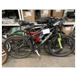 LOT WITH 3 ROAD BICYCLES