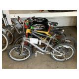 LOT WITH 3 BMX BIKES