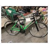 BLACK/GREEN ROADTECH BICYCLE