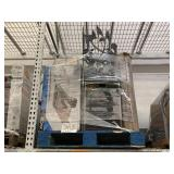 PALLET WITH X-ACTO HEAVY DUTY PAPER TRIMMER,