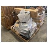 PALLET WITH ASSORTED PRINTERS & FAN