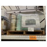 PALLET WITH PRINTER, 2 OXYGEN TANKS & ASSORTED