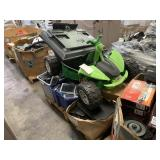 PALLET WITH KIDS TOY ATV, MONITORS, SPEAKERS, LG