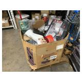 PALLET WITH MISCELLANEOUS ITEMS: DRONES, PERSONAL