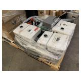 PALLET WITH SOLAR EDGE HD WAVE INVERTER &