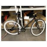 BLACK BICYCLE UNKNOWN BRAND