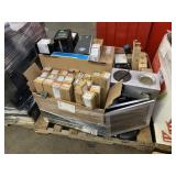 PALLET WITH ASSORTED PRINTERS, TONER CARTRIDGES &