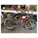 3 BEACH CRUISER BICYCLES