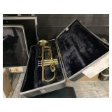 2 TRUMPETS WITH CASE
