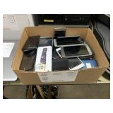 BOX WITH ASSORTED CELLPHONES