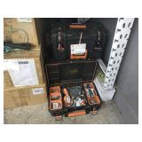 LOT WITH RIDGID TOOL BOXES