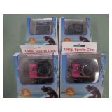 1 LOT W/1080P SPORTS ACTION CAMERA