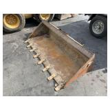 "66"" CAT TOOTH BUCKET SKID STEER LOADER"
