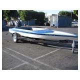 1980 CHEETAH & SPCNS BOAT TRAILER