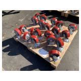 "20 UNITS OF 6"" X 2"" HEAVY DUTY SWIVEL CASTER"