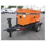 MQ WHISPERWATT AC GENERATOR TOWABLE TRAILER