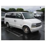 (DEALER ONLY)(DMV FEES) 2001 CHEVROLET ASTRO