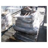 PALLET OF INTERIOR CAR SEATS