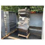 PALLET WITH PORT A COOL CYCLONE 3000 EVAPORATIVE