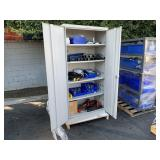 CABINET WITH ELECTRICAL FITTINGS, EYE LUBES &