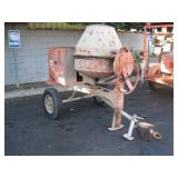 ESSICK CEMENT MIXER TOWABLE TRAILER