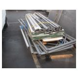 PALLET RACK UPRIGHT & CROSS MEMBERS