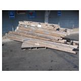 PALLET OF WOODEN STEP LADDERS