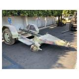 CHASSIS UTILITY TRAILER 3.5 TON, 2 WHEEL NO TITLE
