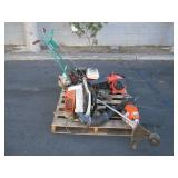 POWERTRIM EDGER, 2 BLOWERS & WEED EATER