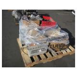 PALLET OF TAIL LIGHTS & ASSORTED AUTO PARTS