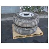 2 CONTINENTAL TRUCK TIRES