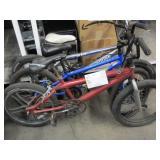 3 ASSORTED BMX BIKES
