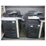 LOT OF 2 KONICA MINOLTA COPY MACHINES