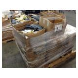 1 PALLET OF SHOE HEATED INSOLES  & WOODED SHOE