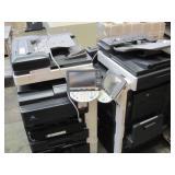 LOT OF 2 KONICA MINOLTA COPY MACHINES; MODEL # PC-