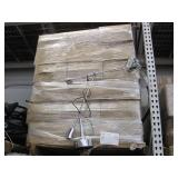 PALLET OF STAINLESS STEEL DECORATIVE LAMPS