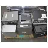 PALLET OF VARIOUS DESKTOP COMPUTERS & ELECTRONICS