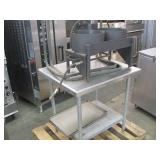 STAINLESS STEEL COMMERCIAL FOOD PREP TABLE