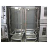 LOT OF 2 STAINLESS STEEL COMMERCIAL FOOD TRAY