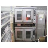 MONTAGUE STAINLESS STEEL DUEL COMMERCIAL OVEN