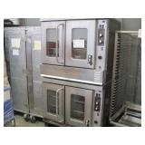 MONTAGUE STAINLESS STEEL COMMERCIAL DUEL OVEN