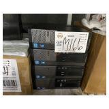 4 DELL OPTIFLEX 390 COMPUTER TOWERS