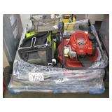 LOT OF 2 LAWN MOWERS ELECTRIC & GASOLINE