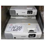 LOT 0F 3 EPSON POWERLITE 955WH LCD PROJECTORS