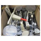 BOX OF TRIPLE BEAM SCALES: