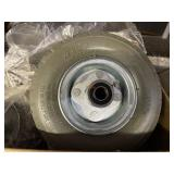 BOX OF 20 RUBBER CASTER WHEELS: 300 LB CAPACITY SI