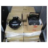 """PALLET OF INLINE DUCT VENTILATION FAN 3-7/8"""": AND"""