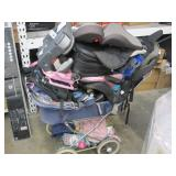 LOT OF BABY ITEMS & LUGGAGE