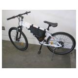 JVO ELECTRIC BIKE WITH FRONT SUSPENSION