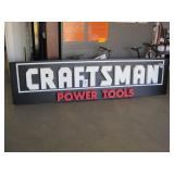 CRAFTSMAN POWER TOOLS COMPANY SIGN